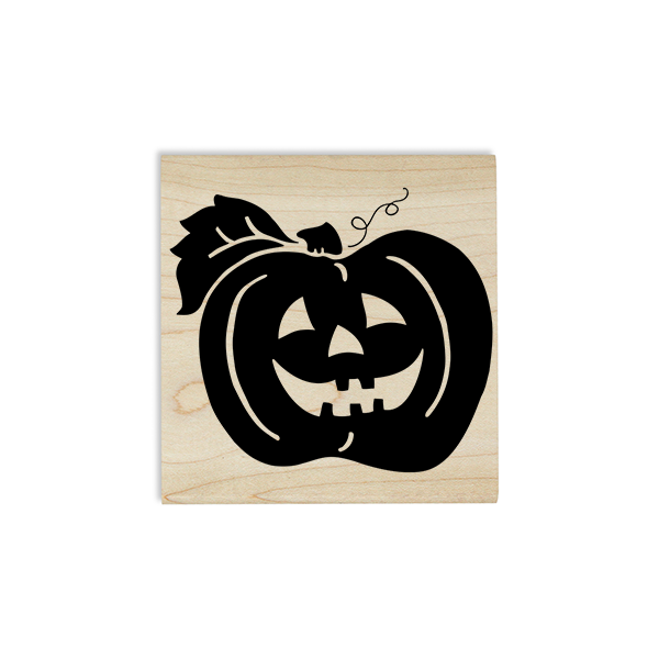 October Jack O' Lantern Craft Stamp Body and Design