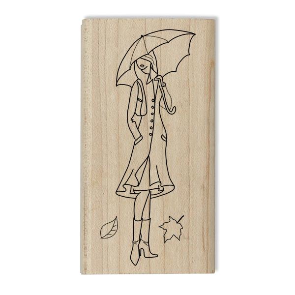 Fall Designer Model Craft Stamp Body and Design