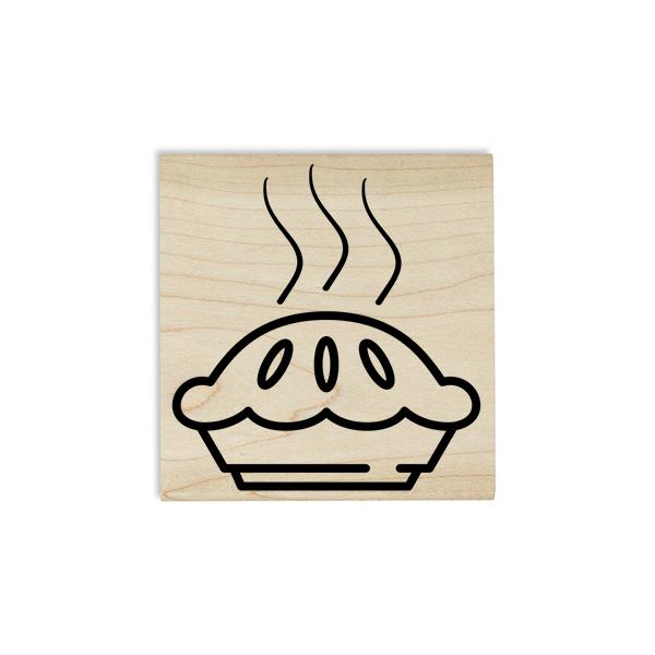 Apple Pie Craft Stamp Body and Design