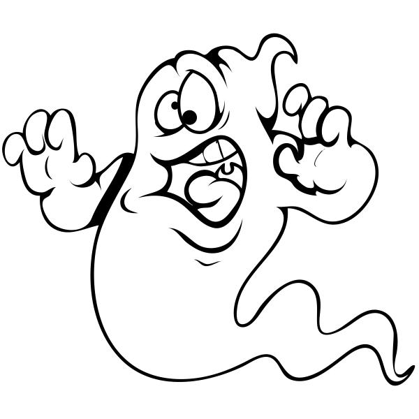 Goofy Ghost Craft Stamp