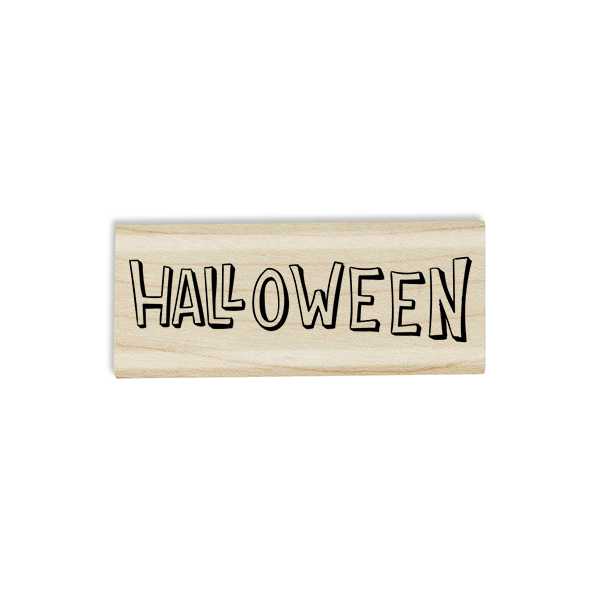 Halloween Hollow Craft Stamp Body and Design
