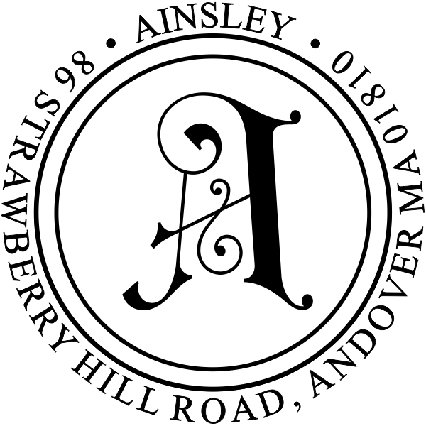Ainsley Embellished Address Stamp