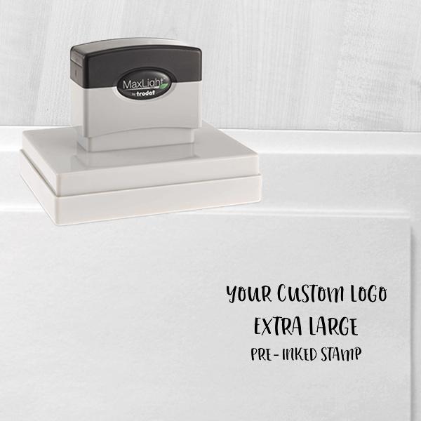 Your Extra Large Custom Logo Stamp