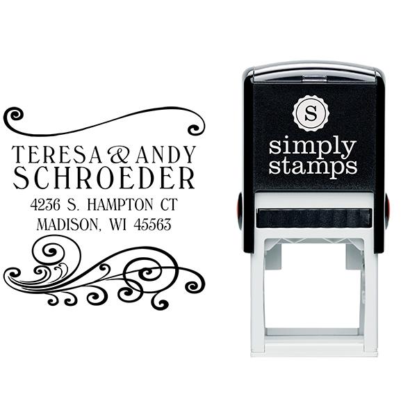 Madison Square Address Stamp Body and Design