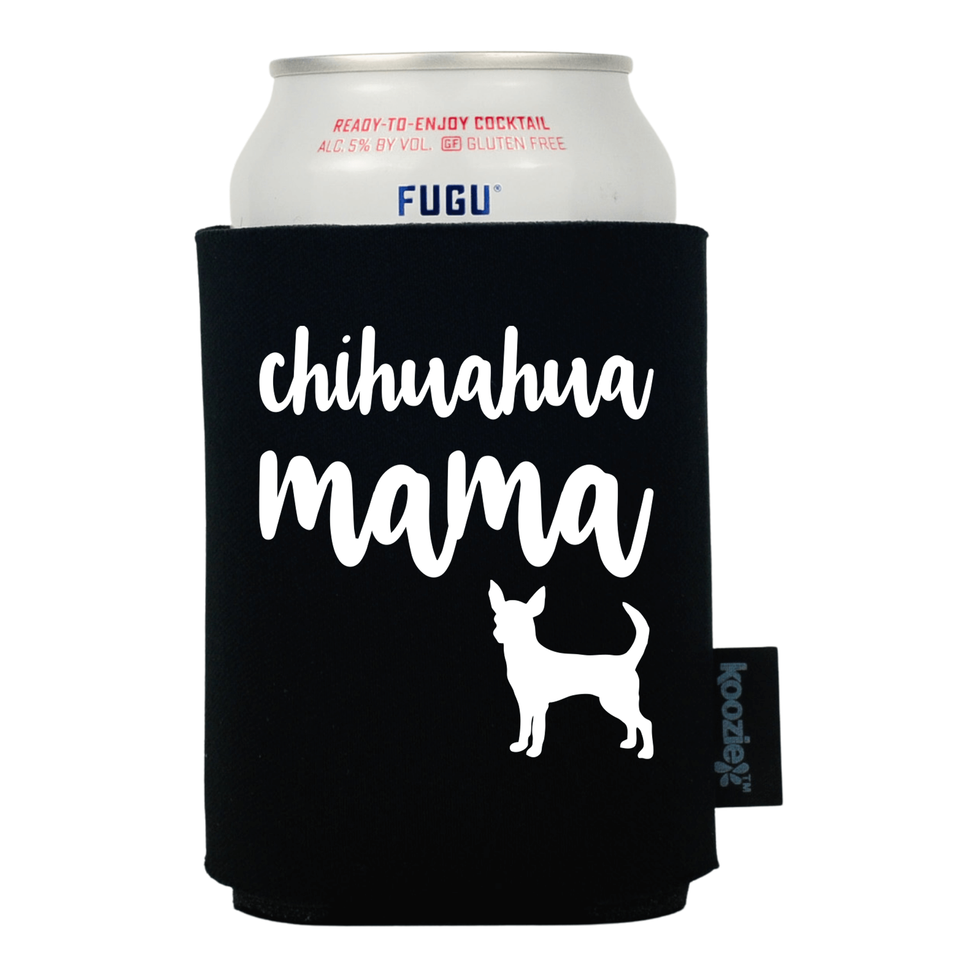 Koozie® Chihuahua Mama Pet Lovers Drink Cooler