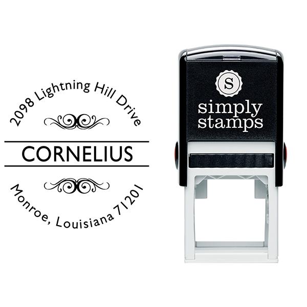 Cornelius Deco Address Stamp Body and Design