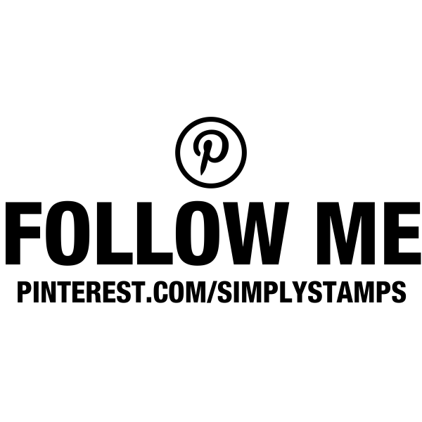 Follow Me On Pinterest URL Stamp