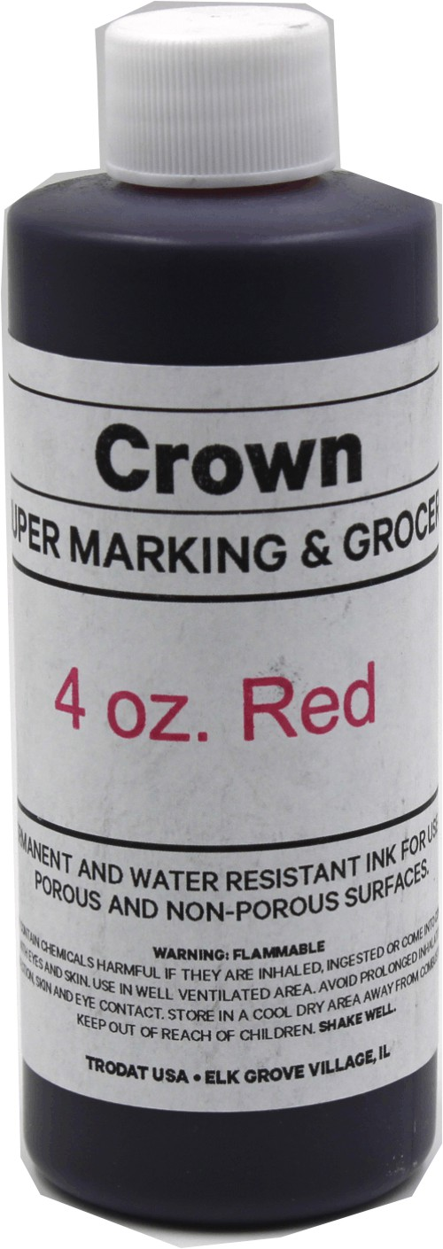 Red 4oz SuperMarking Ink