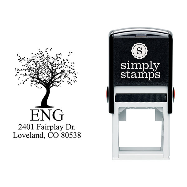 Maple Tree Return Address Stamp Body and Design
