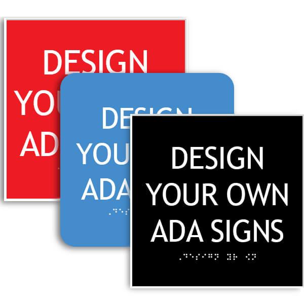 ADA Sign Square