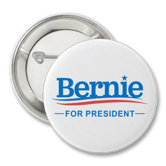Bernie Sanders Presidential Logo Button