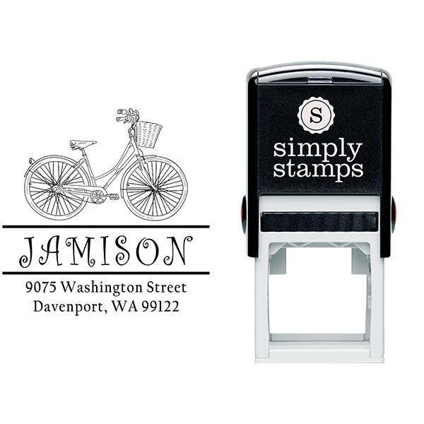Jamison Bicycle Basket Address Stamp Body and Design