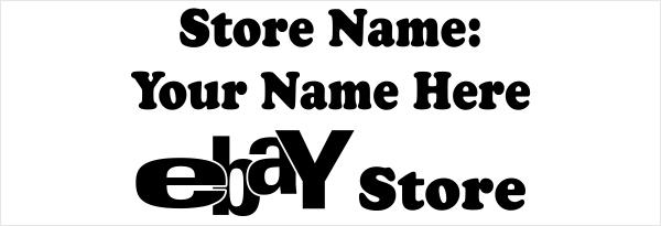 Ebay Store Name
