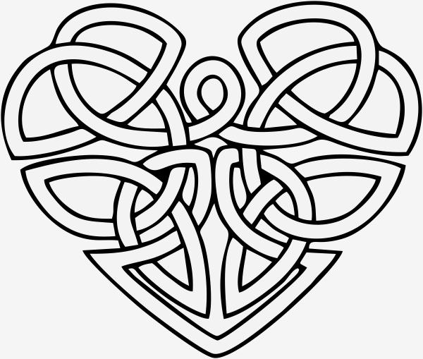 Celtic Heart Stamp