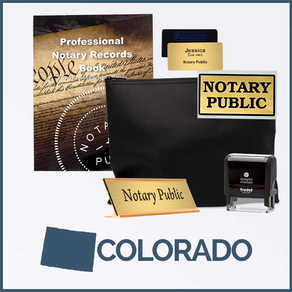Colorado Deluxe Notary Kit