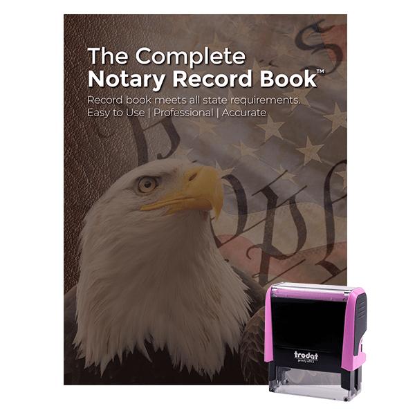 Colorado Pink Value Notary Kit