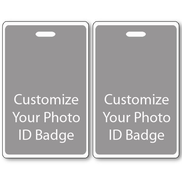 Custom Double Sided Vertical ID Card