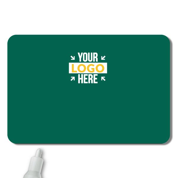 Customized 2 x 3 Chalkboard Reusable Name Tag - Blank