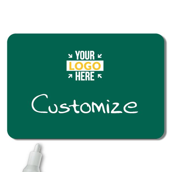 Customized 2 x 3 Chalkboard Reusable Name Tag