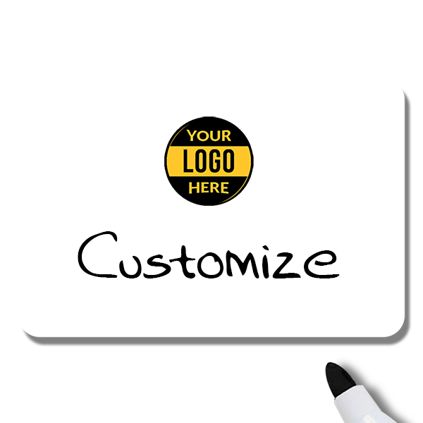 Customized 2 x 3 Dry Erase Reusable Name Tag