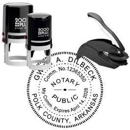 Arkansas Notary Stamp