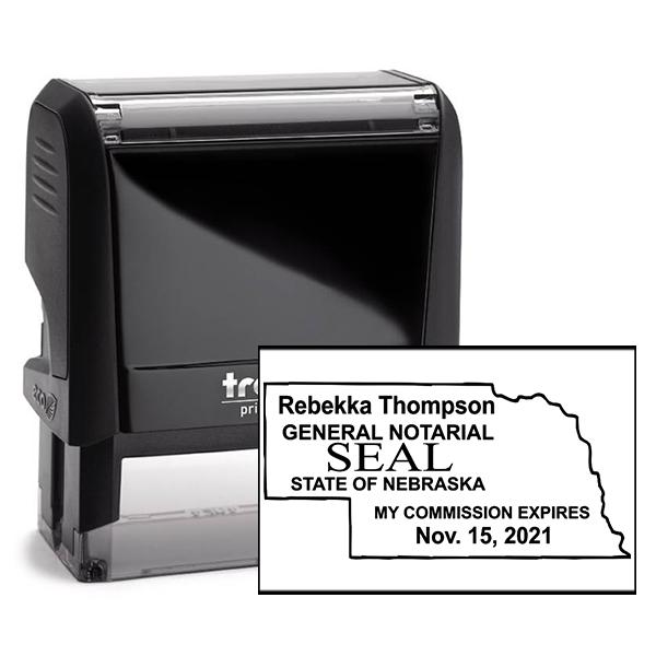 Nebraska Notary State Stamp