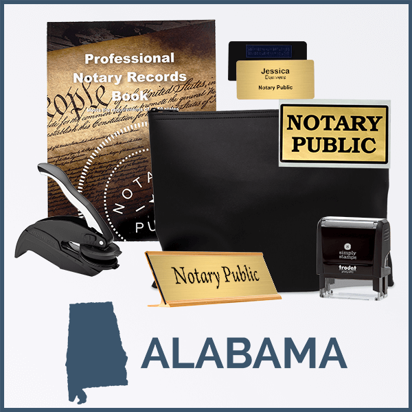 Alabama Deluxe Notary Kit