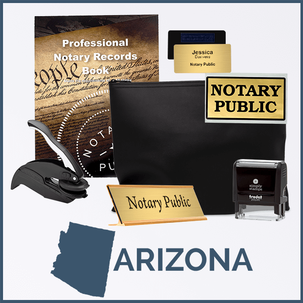 Arizona Deluxe Notary Kit