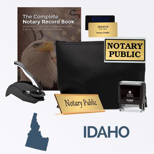 Idaho Deluxe Notary Kit