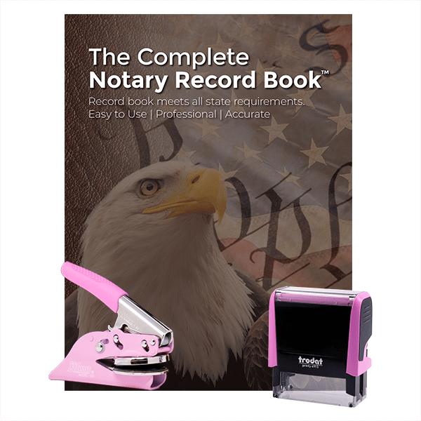 Michigan Pink Value Notary Kit
