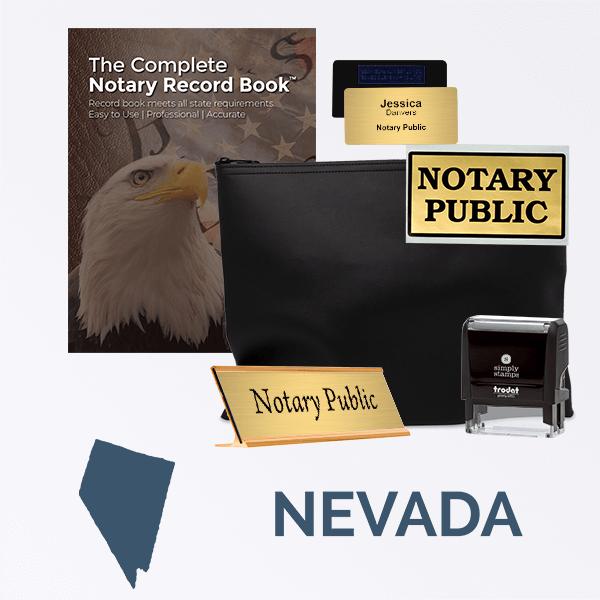 Nevada Deluxe Notary Kit