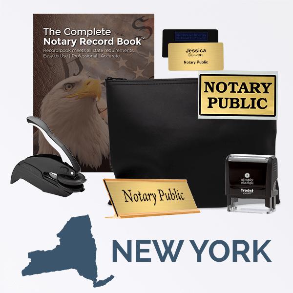 New York Deluxe Notary Kit