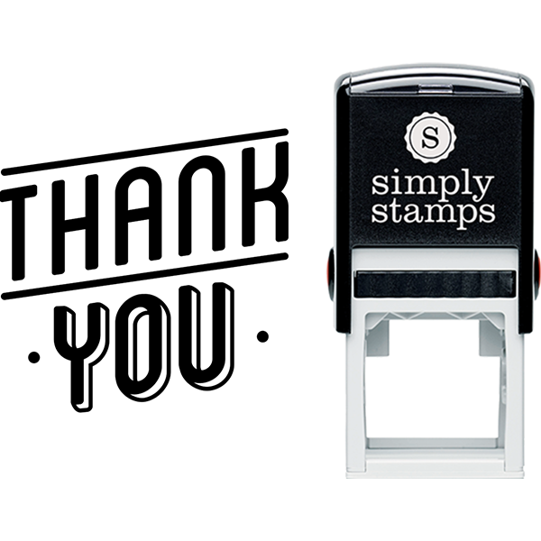 Modern Thank You Business Stamp