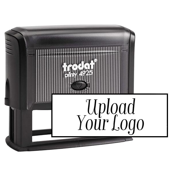 Large Custom Stamp for Rectangle Logos