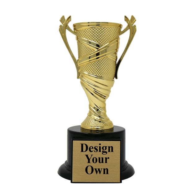 Textured Cup Award Trophy- Medium