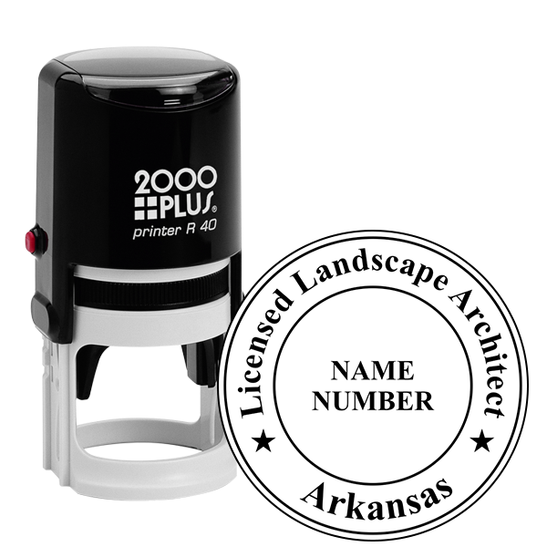State of Arkansas Landscape Architect