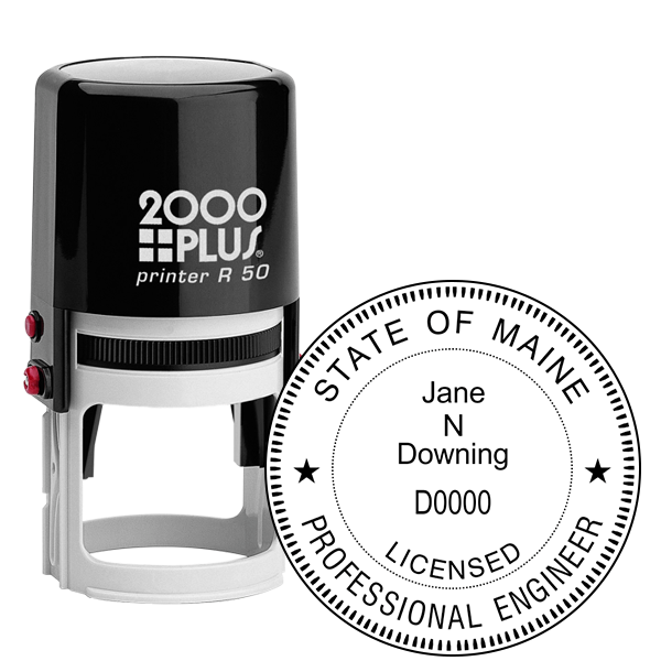 State of Maine Engineer Seal