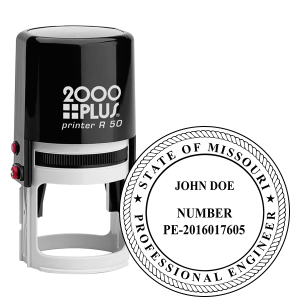 State of Missouri Engineer Seal