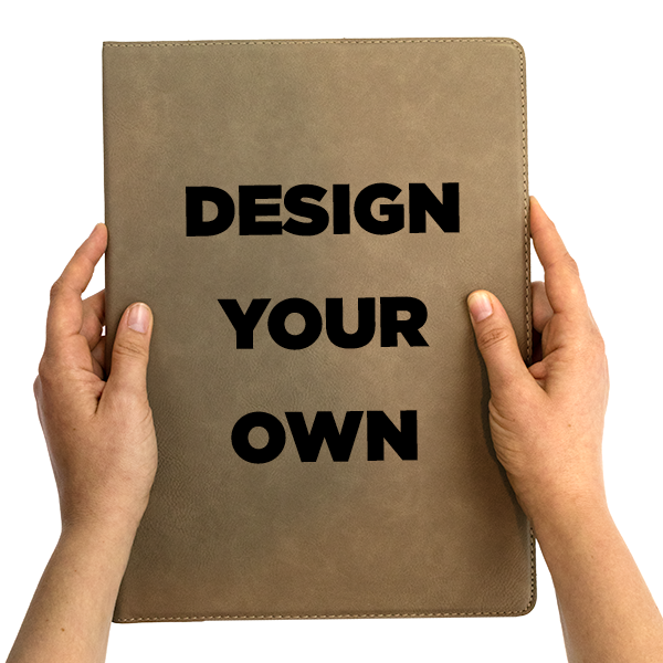 Create Your Own Leatherette Portfolio | Large