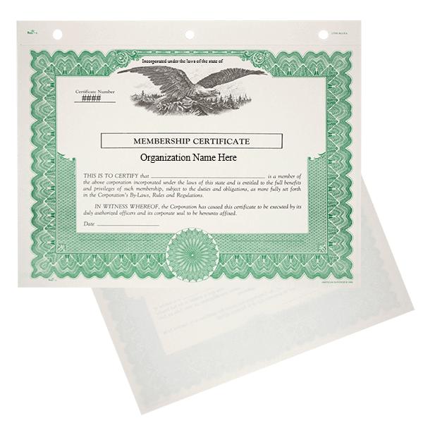 Duke 6 Nonprofit Membership Certificates   Quantity of 20 or More