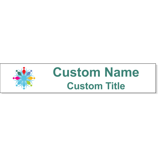 """Insert Only for  1.5"""" x 8"""" Wall Sign - Full Color"""