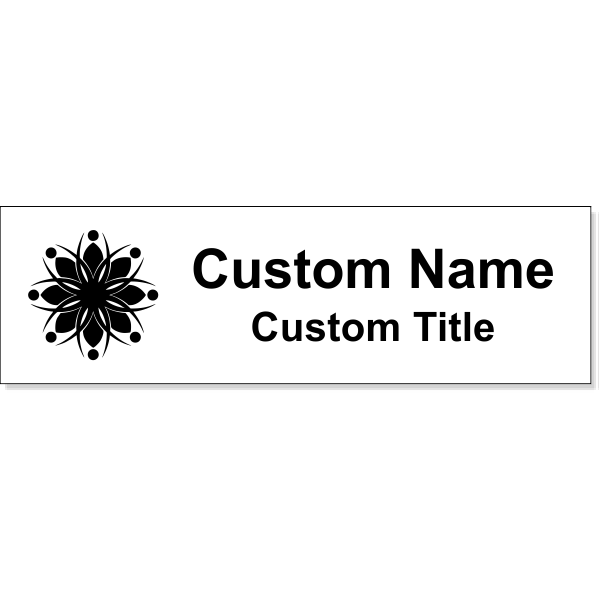"""Insert Only for 3"""" x 10"""" Wall Sign - Engraved"""