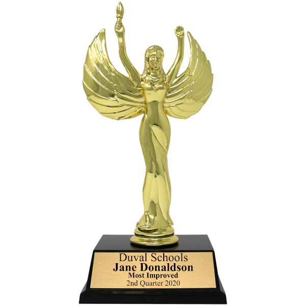 Most Improved Victory Award Trophy