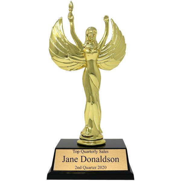 Sales Goal Victory Award Trophy