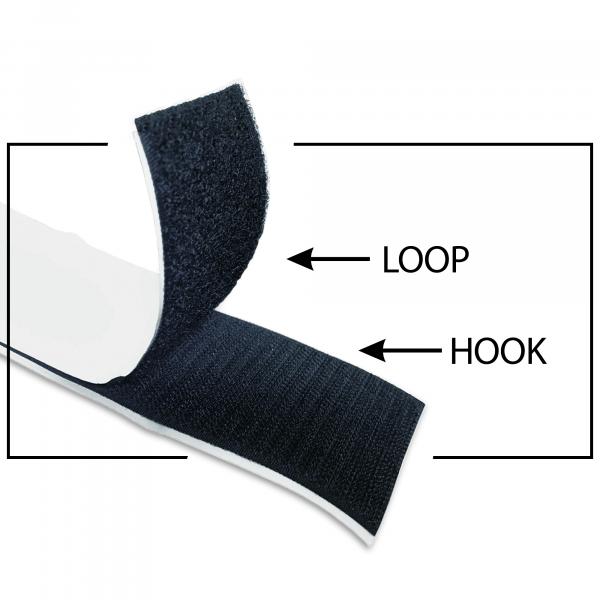 "Self-Adhesive Velcro® Strip | 3"""