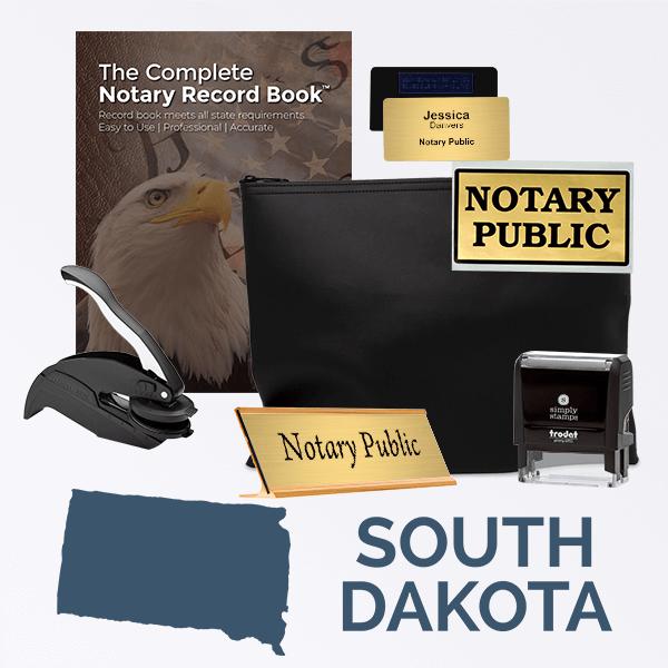 South Dakota Deluxe Notary Kit