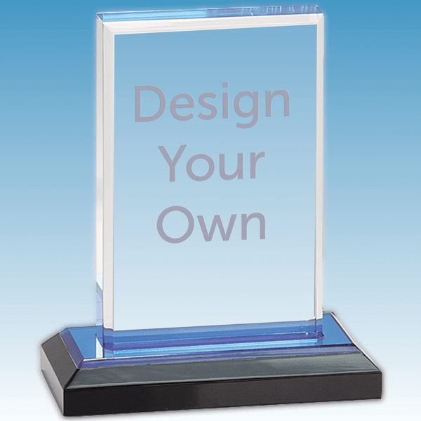 Straight Bevel Acrylic Award - iMP201BU