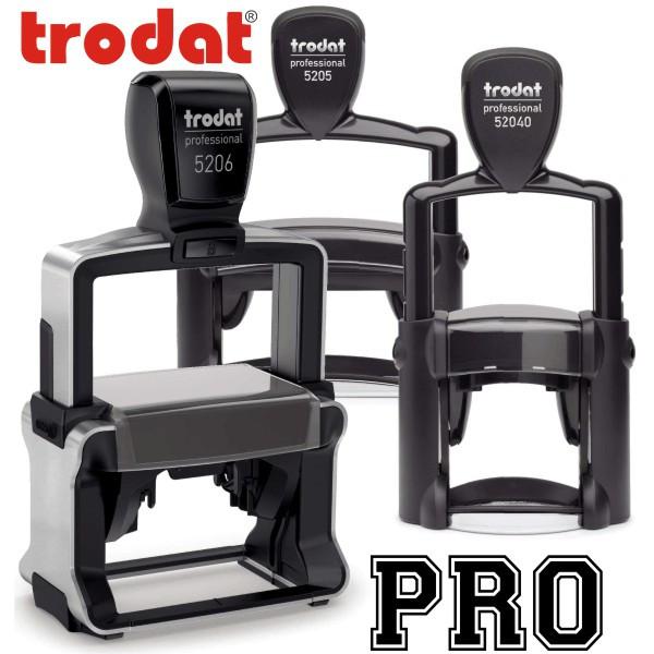 Trodat Professional Series Custom Text Stamps