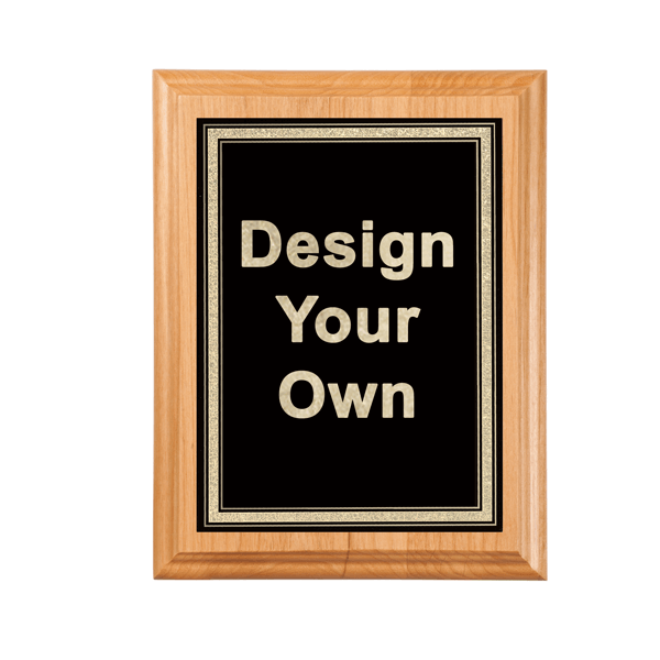 """Victory Plaque 7"""" x 9"""" with Engraved Plate"""