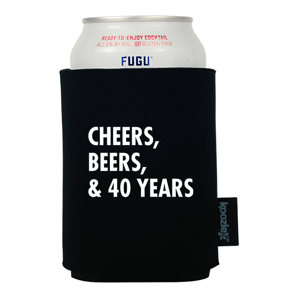 Cheers Beers and Birthday Years Koozie®